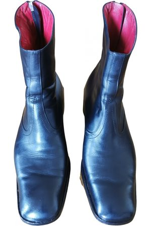 Bally Leather western boots