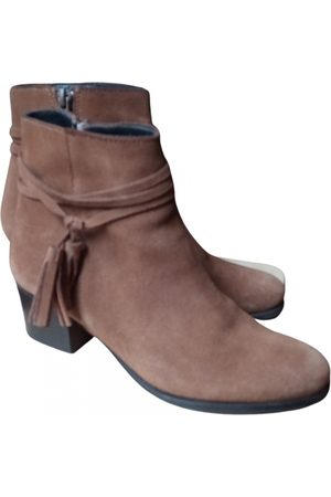 Mano Leather ankle boots