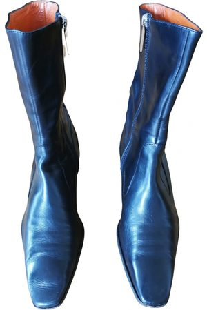 Fratelli Rossetti Leather western boots
