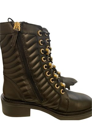 UTERQUE Leather ankle boots