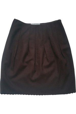 LIVIANA CONTI Wool mid-length skirt