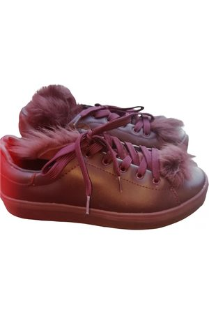 UTERQUE Leather trainers