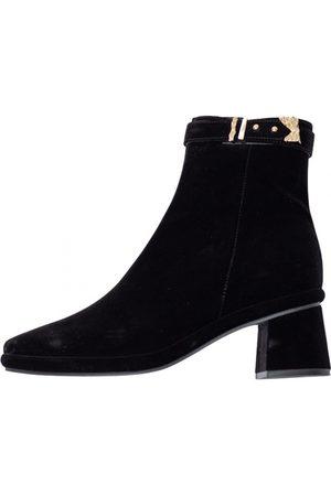 Reike Nen Velvet buckled boots