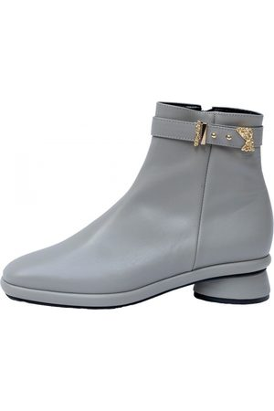Reike Nen Leather buckled boots