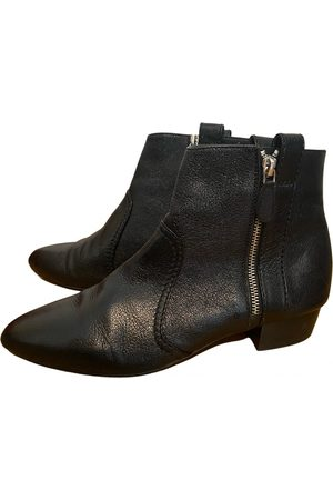 LAURENCE DACADE Leather mocassin boots