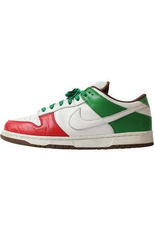 Nike SB Dunk leather low trainers