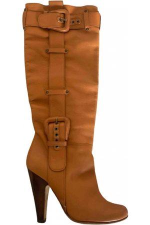 Giuseppe Zanotti Leather cowboy boots