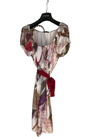 Sisley Silk mini dress