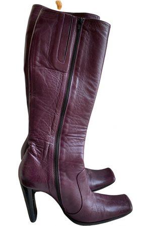COLISEE DE SACHA Leather snow boots