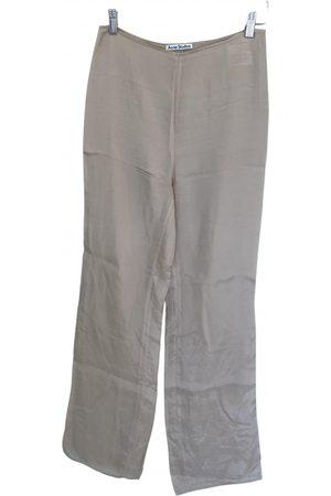 Acne Studios Silk straight pants