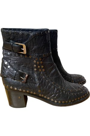LAURENCE DACADE Leather buckled boots