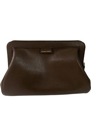 LIVIANA CONTI Leather clutch bag