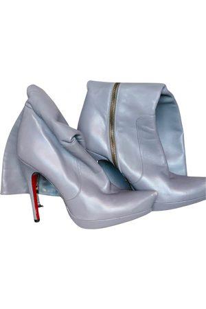 Cesare Paciotti Leather snow boots