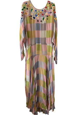 THORNTON BREGAZZI Silk maxi dress
