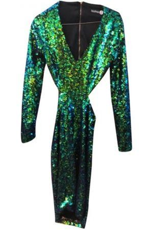 Boohoo Glitter mini dress