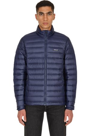 Patagonia Men Jackets - Down sweater jacket CLASSIC NAVY
