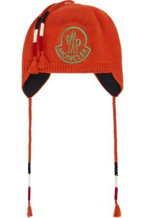 Moncler Men Hats - Hat with earflaps PASTEL