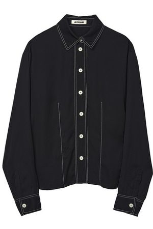 AERON Women Long sleeves - Puerto long-sleeve shirt with contrast stitching