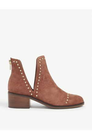 Steve Madden Conspire stud-detail faux-leather ankle boots