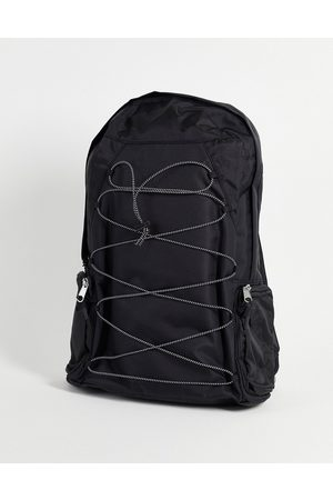 ASOS Backpack with bungee cords in nylon