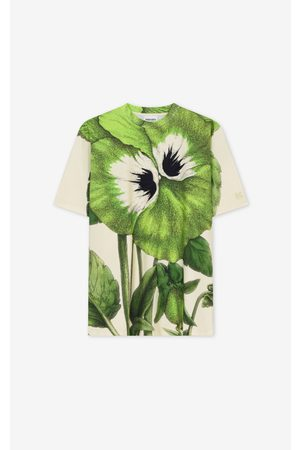 Kenzo Men Short Sleeve - Pansy' oversize T-shirt