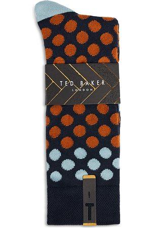 Ted Baker Dot Pattern Socks