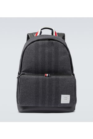 Thom Browne Men Luggage - 4-Bar Easy backpack