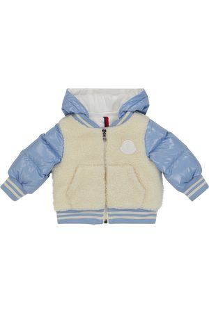 Moncler Jackets - Baby fleece and down jacket