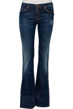 Roberto Cavalli Faded Effect Denim Jeans S