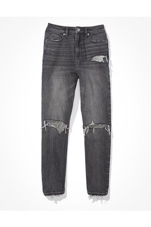 American Eagle Outfitters Ripped Mom Jean Women's 2 Regular