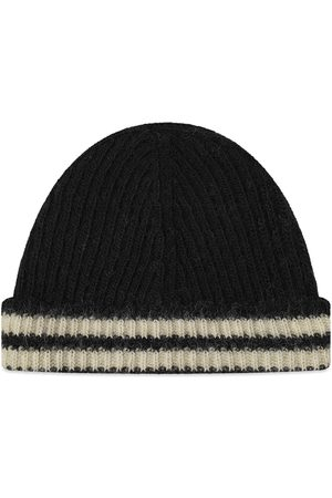 OUR LEGACY Knit Striped Beanie