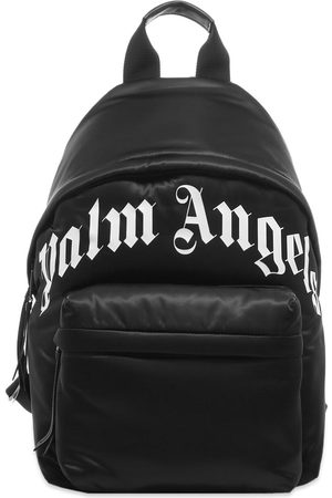 Palm Angels Men Rucksacks - Curved Logo Backpack
