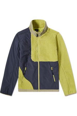 Brain Dead Paneled Fleece Jacket