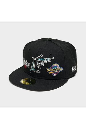 New Era Hats - Florida Marlins MLB World Champs 59Fifty Fitted Hat in / Size 7