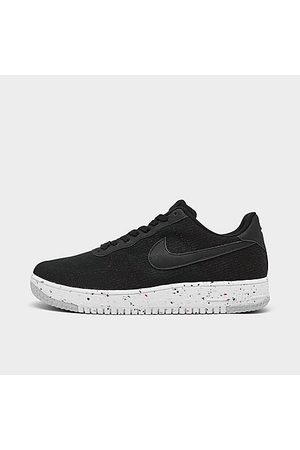Nike Men Casual Shoes - Men's Air Force 1 Crater Flyknit Casual Shoes Size 7.5 Knit/Linen