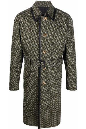 VERSACE Belted-waist coat