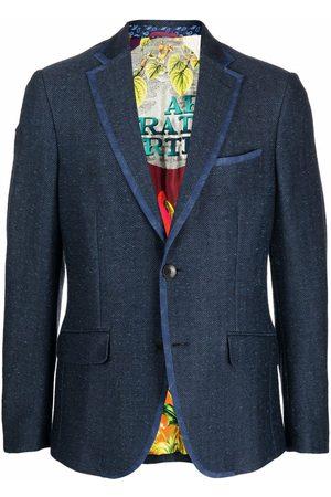 Etro Jersey single-breasted blazer