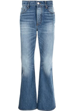 AMIRI Faded bootcut jeans