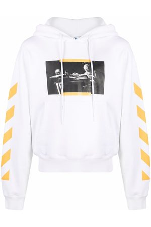 OFF-WHITE CARAV PAINTING OVER HOODIE MULTICO
