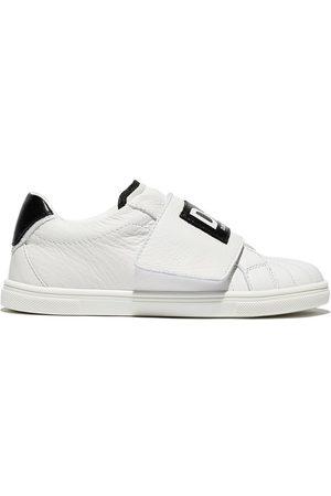 Dolce & Gabbana Slip-on contrasting logo sneakers