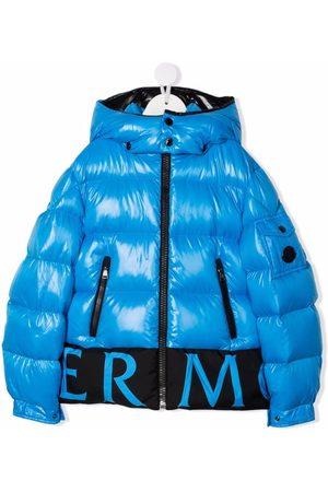 Moncler Boys Puffer Jackets - Pervin logo-trim padded jacket
