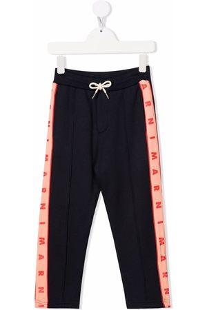 Marni Logo-tape track pants