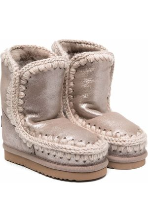 Mou Shearling lining boots - Grey