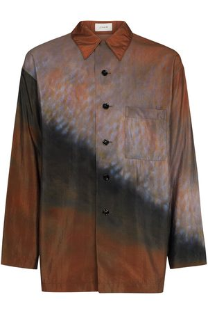 LEMAIRE Abstract-print long-sleeve shirt