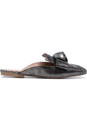 Vicenza Square-toe metallic mules - 02