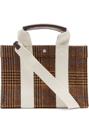 Rue de Verneuil Tote M Prince Of Wales-check Tweed Tote Bag - Womens - Multi