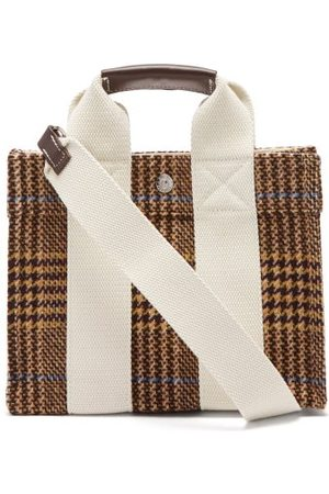 Rue de Verneuil Tote Xs Prince Of Wales-check Tweed Tote Bag - Womens - Multi