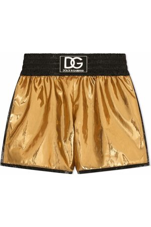 Dolce & Gabbana Logo-patch track shorts