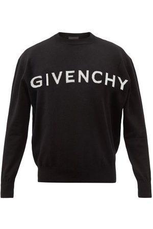 Givenchy Logo-intarsia Cashmere Sweater - Womens