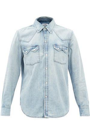 RE/DONE 50s Sawtooth Denim Shirt - Womens - Light Denim